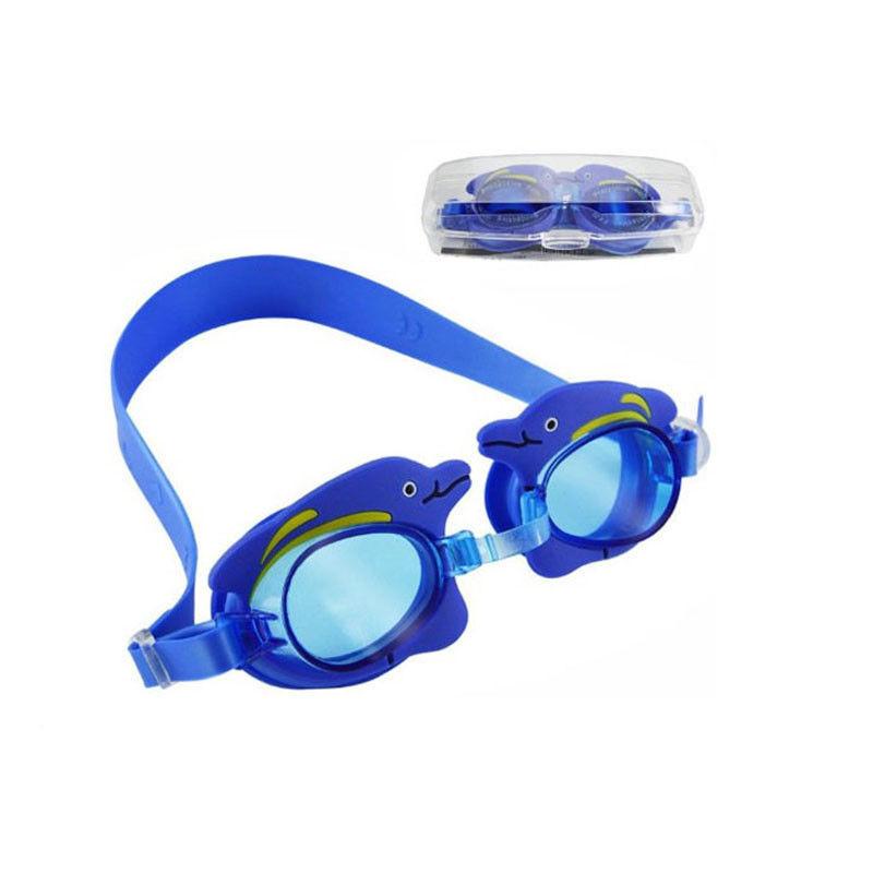 be22366a774 Non Slip Double Strap Kids Prescription Swim Goggles Customized Logo  Printing