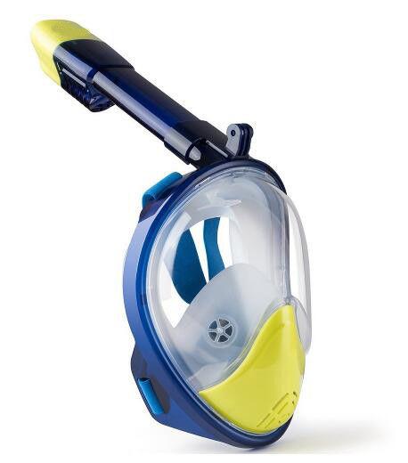 8ef440dfe Máscara de Snorkel Máscara de Mergulho com Cara de Mergulho 180 ° Máscara  de Mergulho para Crianças e Crianças
